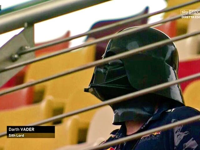 Even Sith Lords Enjoy Formula One