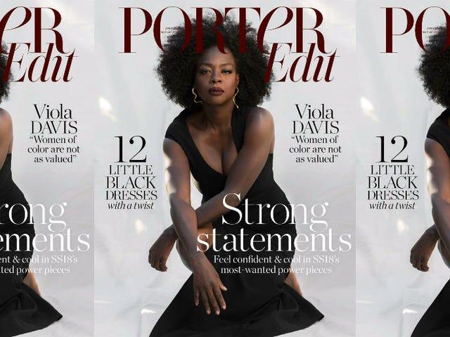 'I Am Mirroring Women': Viola Davis Gets Real in Porter Edit