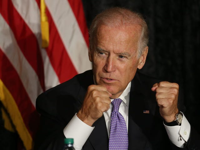 Joe Biden Wanting to Punch Donald Trump Behind the Bleachers Isn't About Toxic Masculinity or Being Tough; It's Just Bad Politics