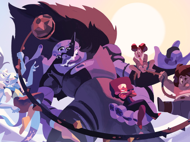 Get an Exclusive Sneak Peek of the New Steven Universe: Fusion Frenzy Comic