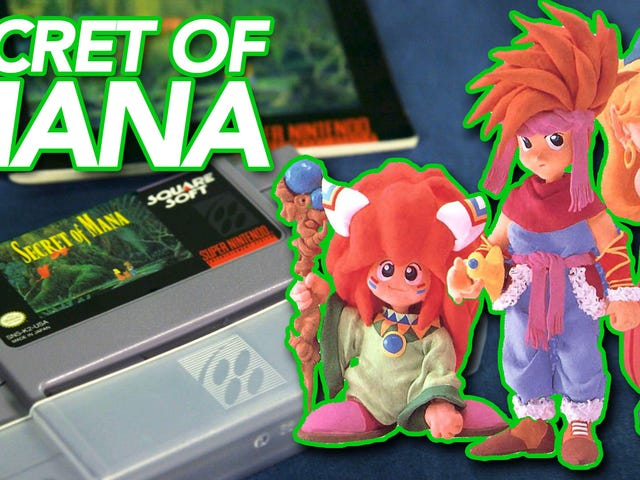 Secret Of Mana: One Game, Three Very Different Boxes