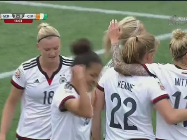 La Germania sta schiacciando la Costa d'Avorio nel miglior cattivo gioco che abbia mai visto