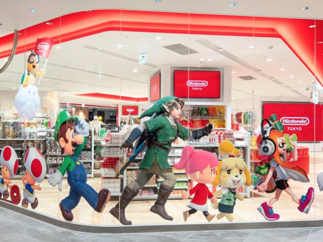 Japans första Nintendo-butik öppnade förra fredagen, men linjerna är fortfarande timmar långa