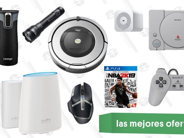 Las mejores ofertas de este martes: PlayStation Classic, interruptor inteligente Wemo, NBA 2K19 y más