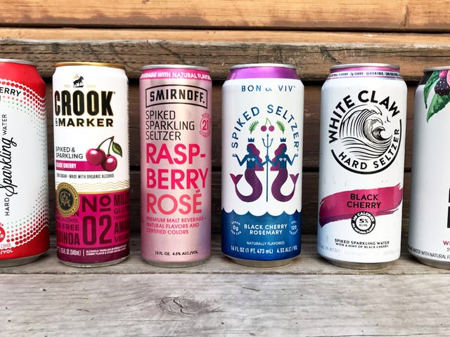 What's the best-tasting hard seltzer?