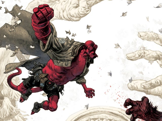 Mignola & Fegredo reunite in this Hellboy And The B.P.R.D.: The Beast Of Vargu first look