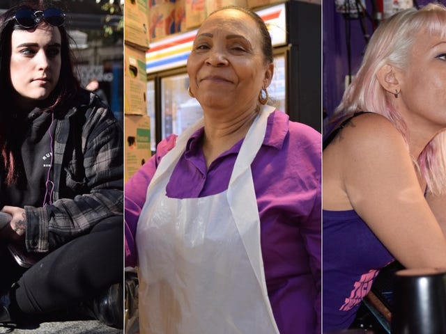 'I'm Feeling Nauseous': Brief Chats With Women Voters in New York City