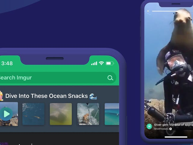 How to Use Imgur Snacks, the App's New Stories-Style Feature