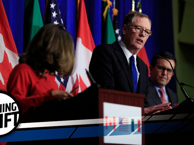 NAFTA Partners Balk At United States' 'Insane' Automotive Production Demands