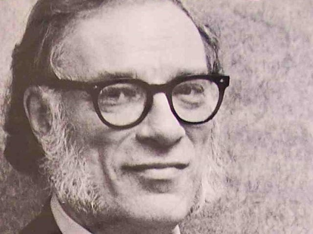 "How Isaac Asimov Avoided ""Getting Stuck"" While Working"