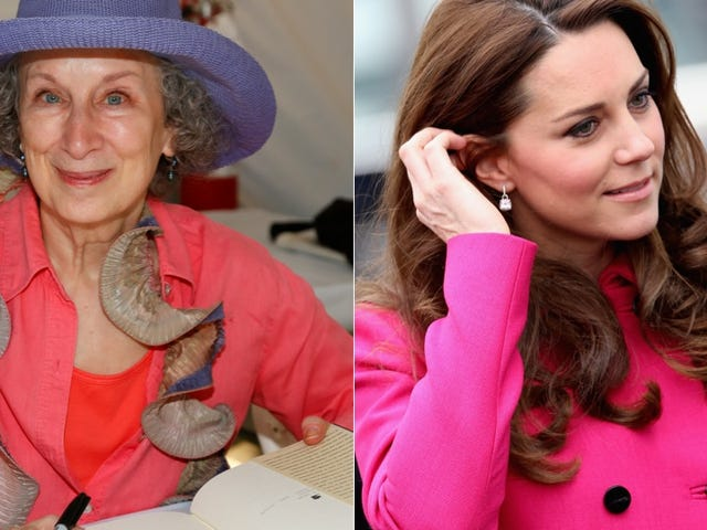 Margaret Atwood Finds Kate Middleton's Style 'Uneventful'