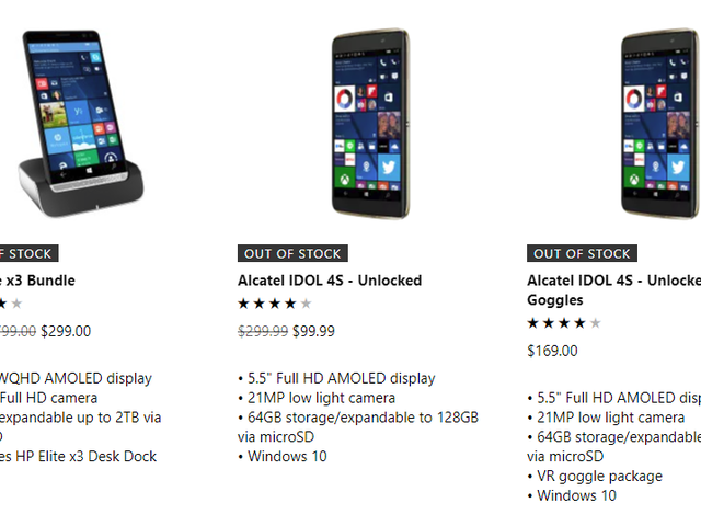 Looks Like Microsoft's Windows Phone Supply Is Finally Running Dry