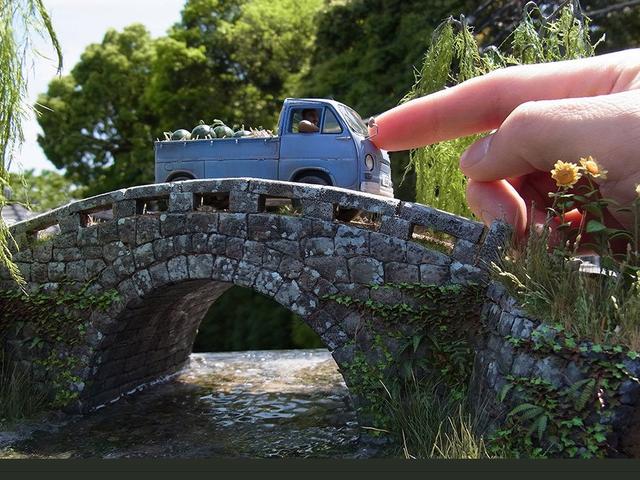 Super realistyczne japońskie dioramy