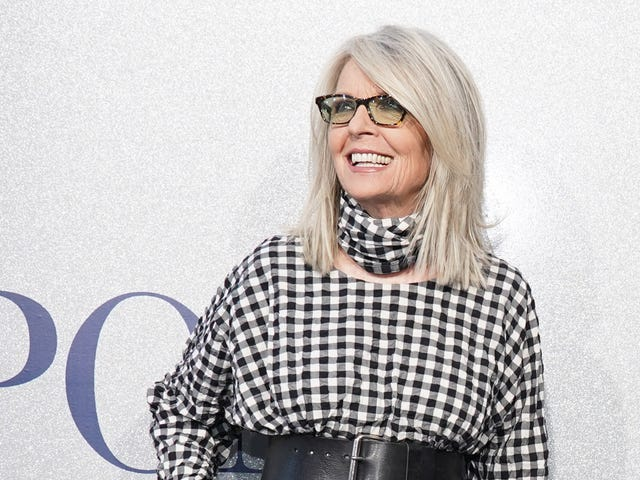 Diane Keaton Walks a Tight Line Between Gleefully Single and Extremely Horny
