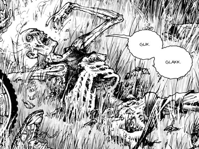 The Matrix Glitches as Black-and-White Comic TheWalking DeadBecomes a Coloring Book