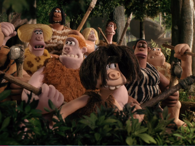 In the New Early ManTrailer, the Stone Age Strikes Back in the Goofiest Way