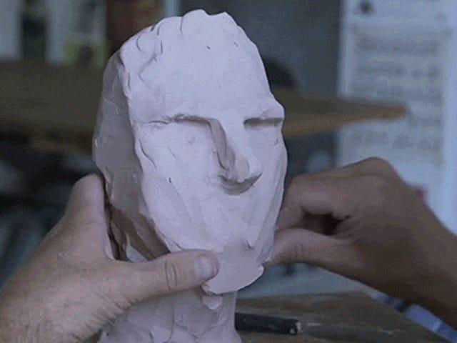 Watch an Artist Sculpt Wonderfully Wacky Sculptures