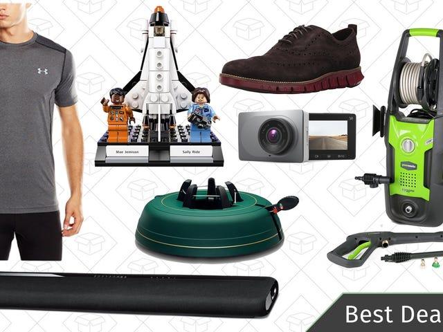 Thursday's Best Deals: Yamaha Sound Bar, Dash Cam, Pressure Washer, and More