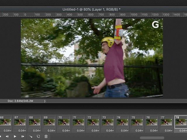 Den ultimata guiden för att konvertera video till GIF-filer med Adobe Photoshop
