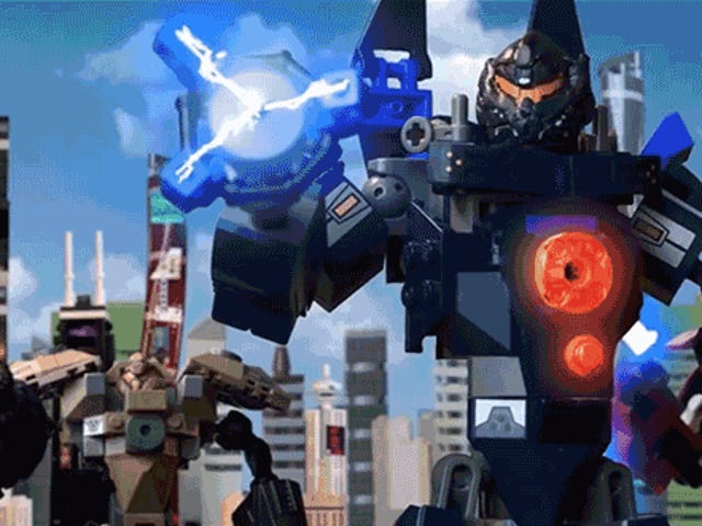 This LegoPacific Rim Uprising Trailer Un-Cancels the Apocalypse With Thousands of Bricks