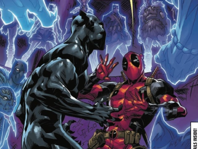 Black Panther Vs. Deadpool enters its final round in this exclusive preview