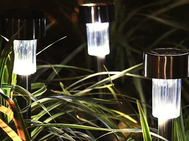 Illuminate Your Lawn With Six Solar Lights For $10