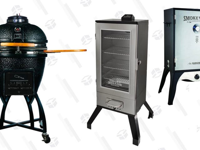 Host The Best Cookouts With These Discounted Grills and Smokers
