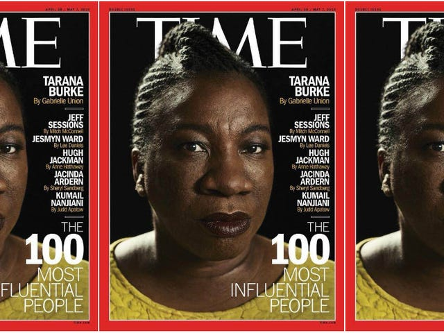 This Time, Time Got It Right: Tarana Burke Covers the 100 Most Influential People Issue