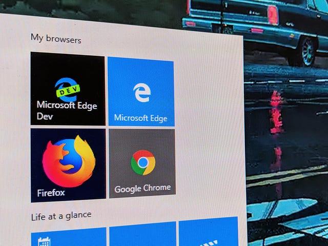 Όλα όσα γνωρίζουμε για το νέο Microsoft Edge So Far