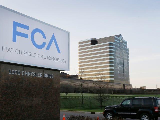 Fiat Chrysler lembrará 862.520 carros a gasolina por não atenderem às normas de emissões