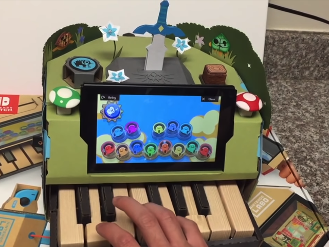 Contest Winners Use Labo To Turn Switch Into A Zelda Piano
