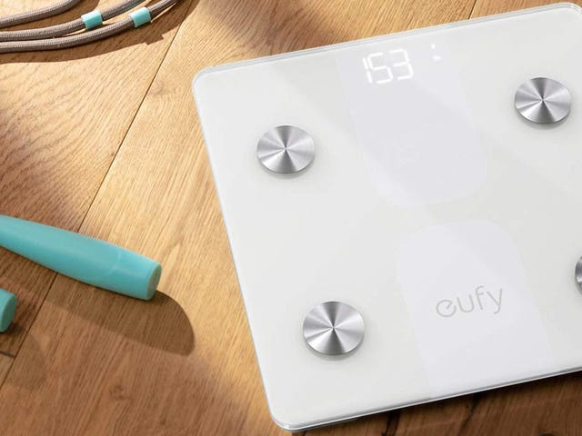 Step on a Eufy C1 Smart Scale for $17