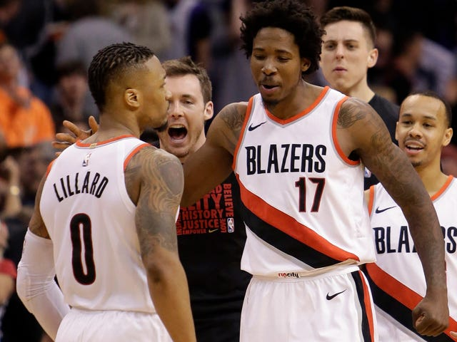 Damian Lillard Rescued His Blazers From The Lowly Suns, And Also The Suns From The Blazers