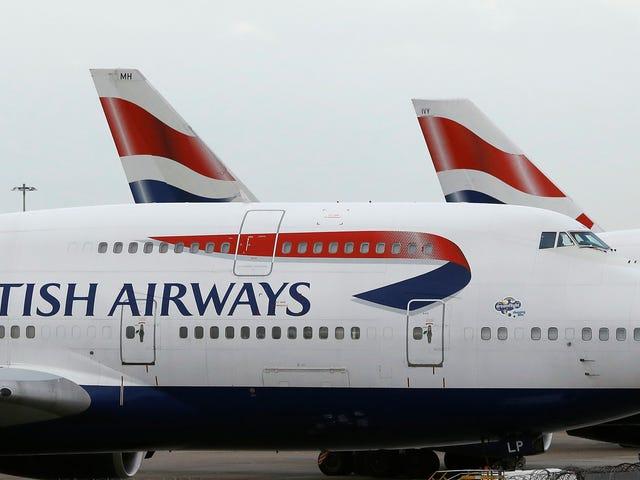 Η British Airways αντιμετωπίζει ποινή ύψους 229 εκατομμυρίων δολαρίων έναντι κλεμμένων δεδομένων πελατών