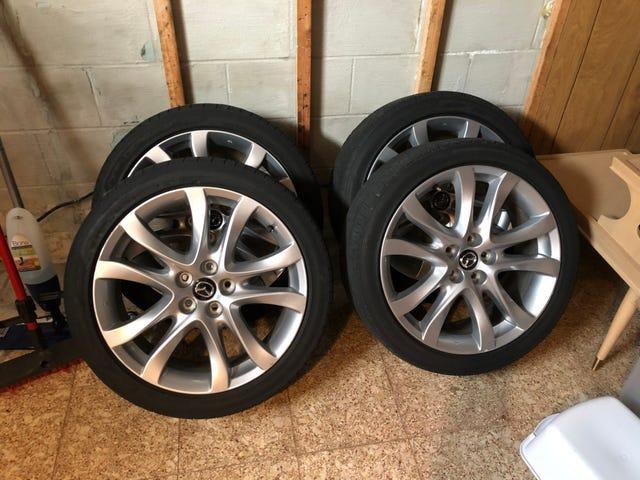 Storing Wheels/Tires During Offseason