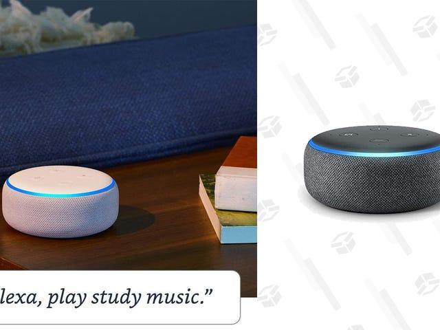 Kumuha ng isang Buwan ng Amazon Music Walang limitasyong at isang Echo Dot para sa kasing liit ng $ 9