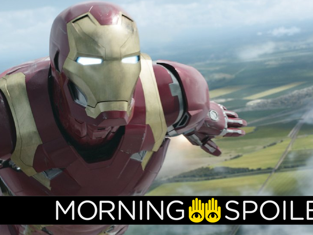 Our First Look at Iron Man's New Avengers: Infinity WarArmor