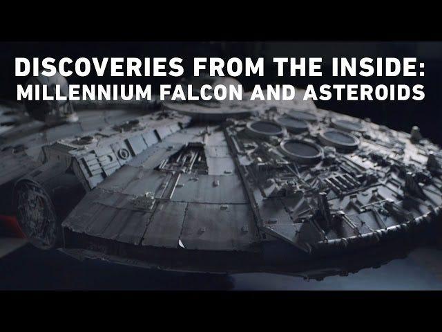 Millennium Falcon's ikoniske udseende var et sidste sekund design