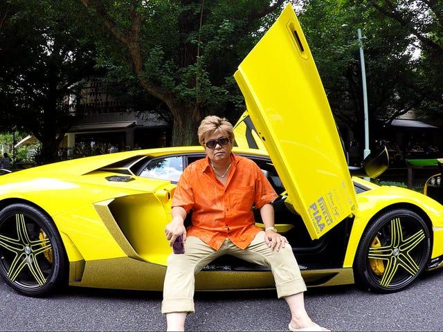 MoreBosozoku Lamborghinis.