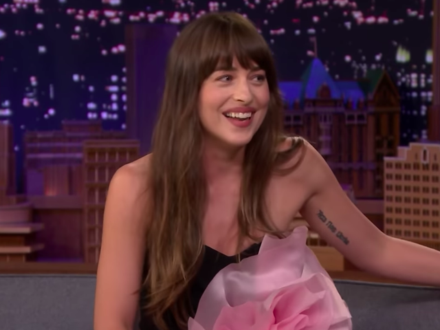 Dakota Johnson is also mourning her tooth gap