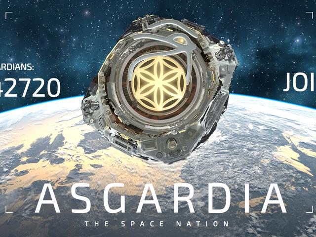 Un científico ruso funda una nación espacial y ya tiene 240.000 ciudadanos.  Bienvenidos a Asgardia