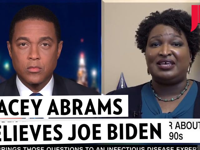 Stacey Abrams Offers Herself as Tribute