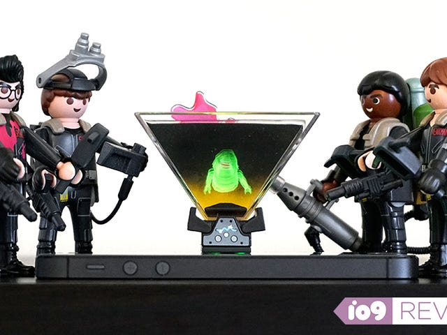 Playmobil's Ghostbusters Toys Now Come With Floating Holographic Ghosts to Trap