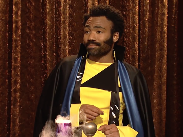Donald Glover's Lando Calrissian Holds a Summit for All the Black People in Star Wars