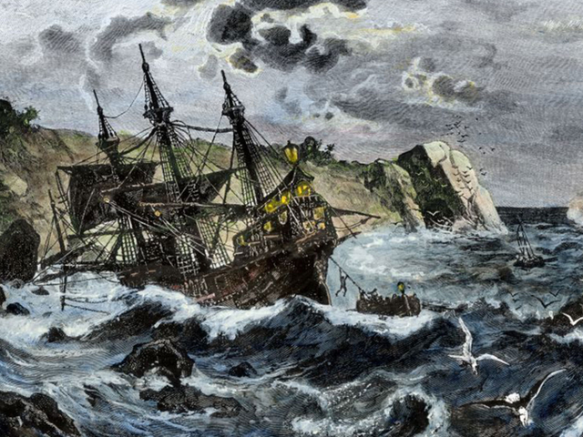 Christopher Columbus's Flagship, The Santa Maria, Has Been Found