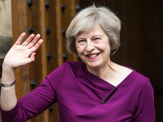 Theresa mai blir Storbritannias neste statsminister