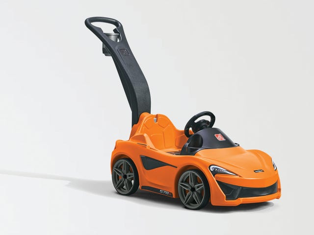 Akhirnya, A McLaren For The Children