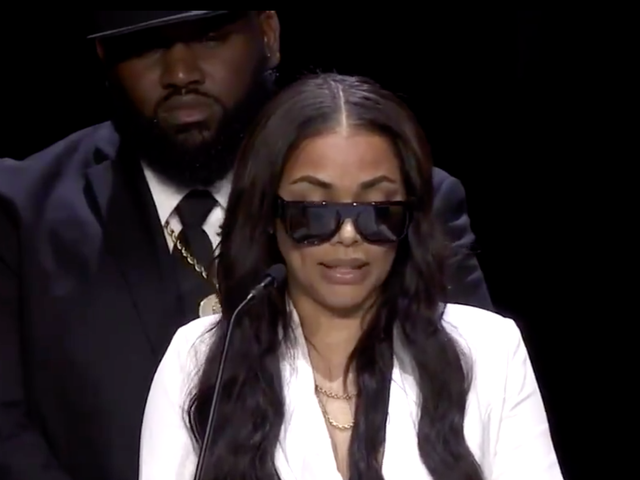 Lauren London Says 'You've Been My Turn-Up and My Church' in Eulogy for Nipsey Hussle