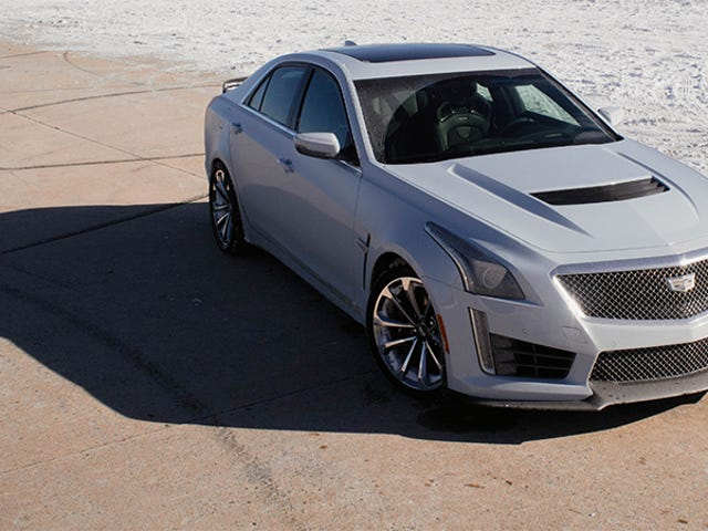 What The Cadillac CTS-V Can Teach You About New York City Driving