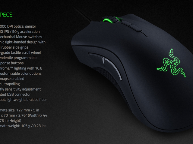 Here's the Best Deal Yet on Razer's Incredible DeathAdder Elite